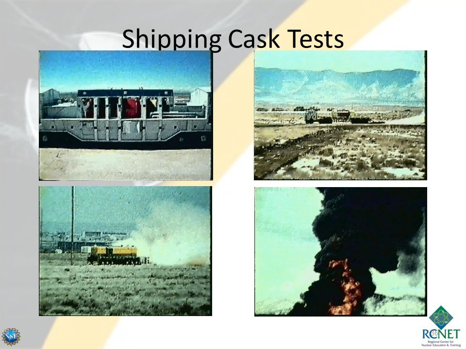 Shipping Cask Tests