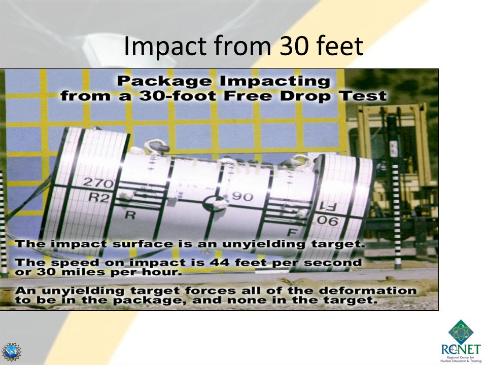 Impact from 30 feet