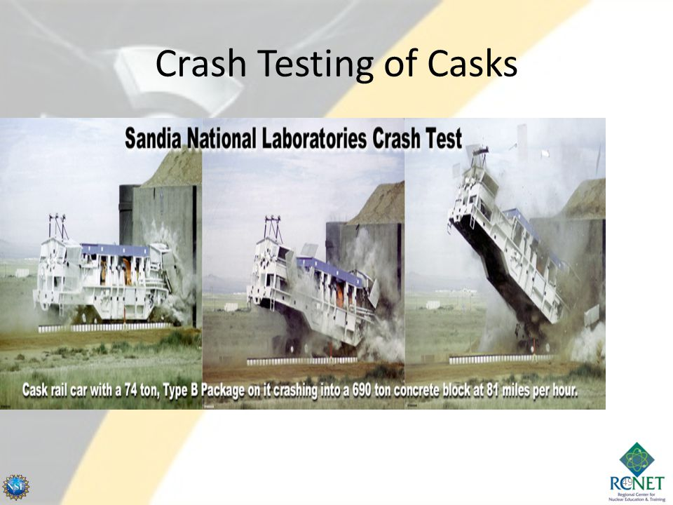 Crash Testing of Casks