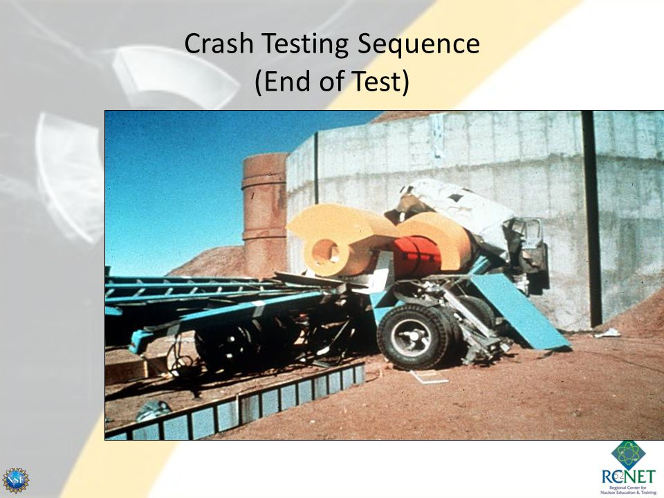 Crash Testing Sequence (End of Test)