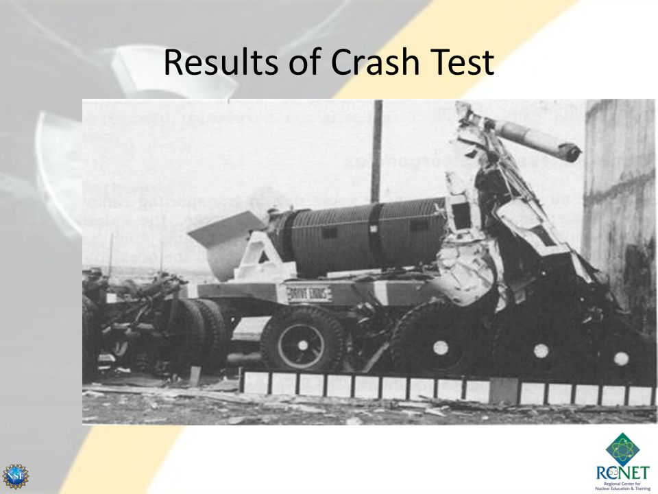 Results of Crash Test