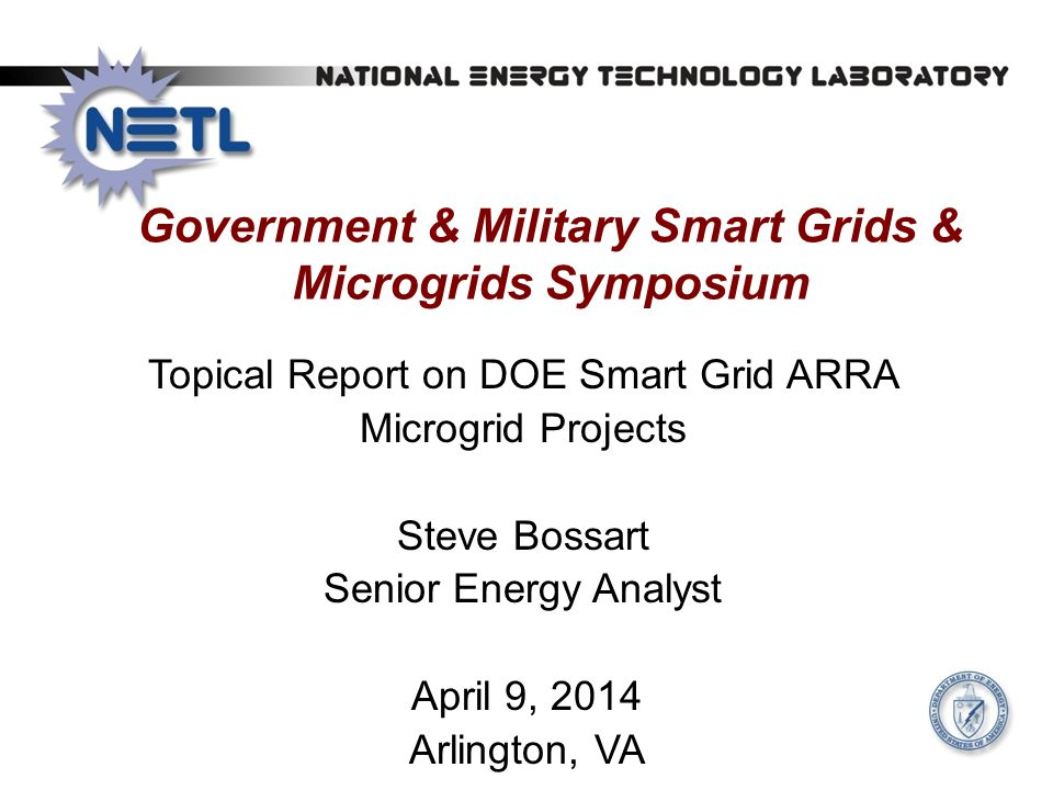 Government & Military Smart Grids & Microgrids Symposium