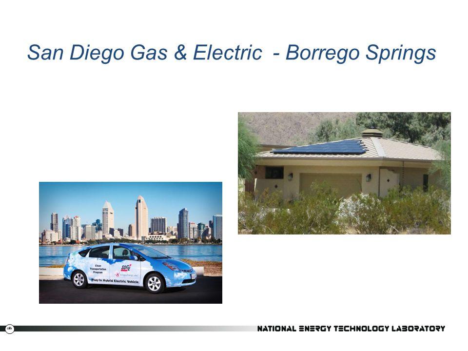 San Diego Gas & Electric - Borrego Springs