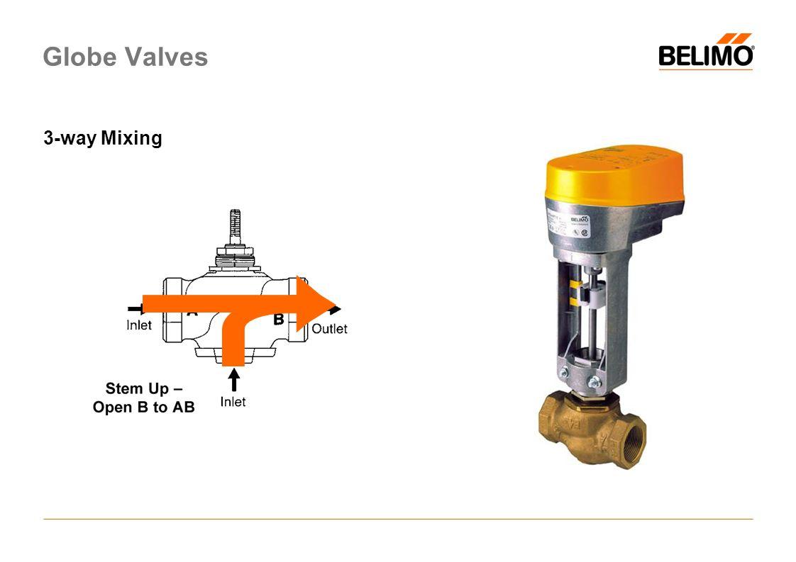 Globe Valves 3-way Mixing