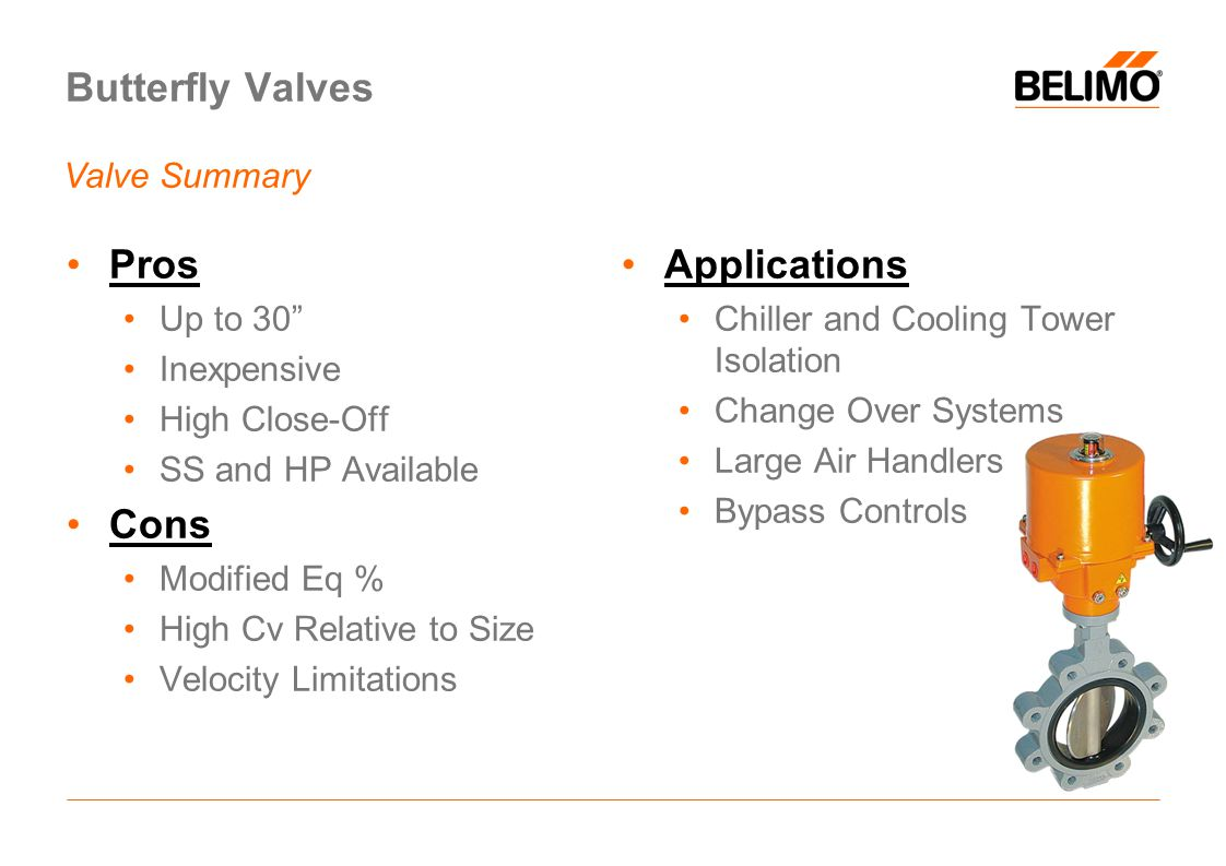 Butterfly Valves Pros Cons Applications Valve Summary Up to 30