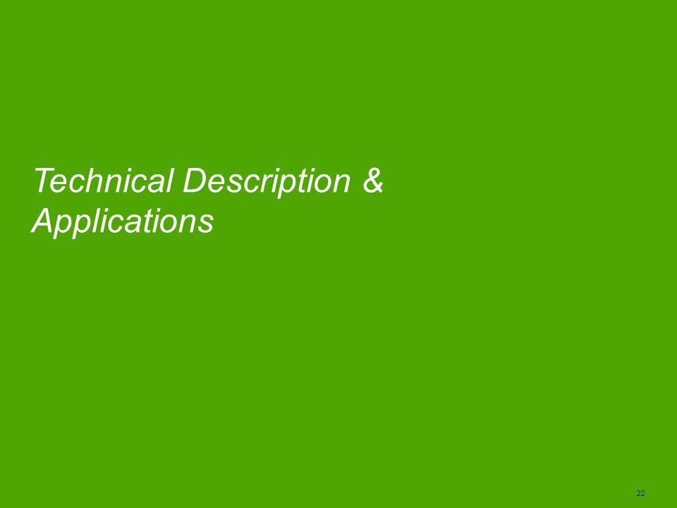 Technical Description & Applications
