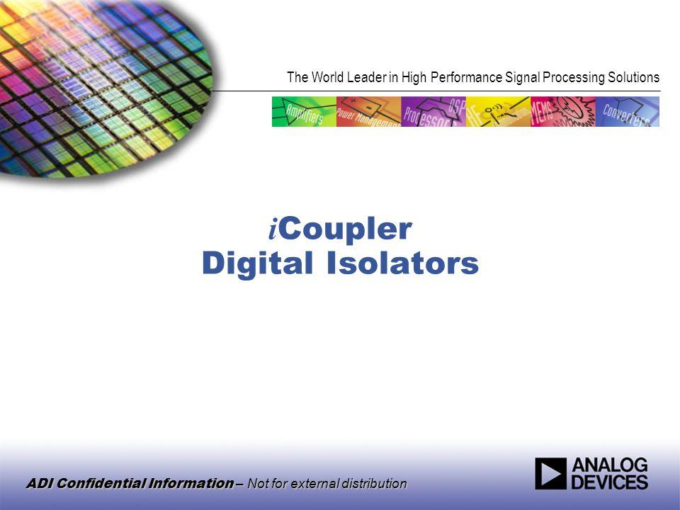 iCoupler Digital Isolators