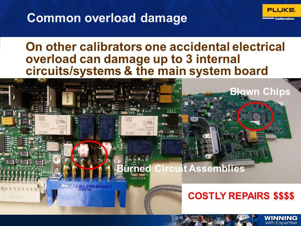 Common overload damage