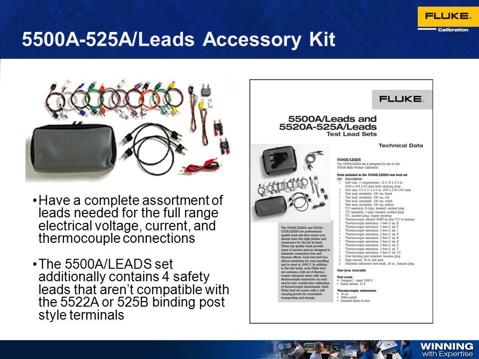 5500A-525A/Leads Accessory Kit