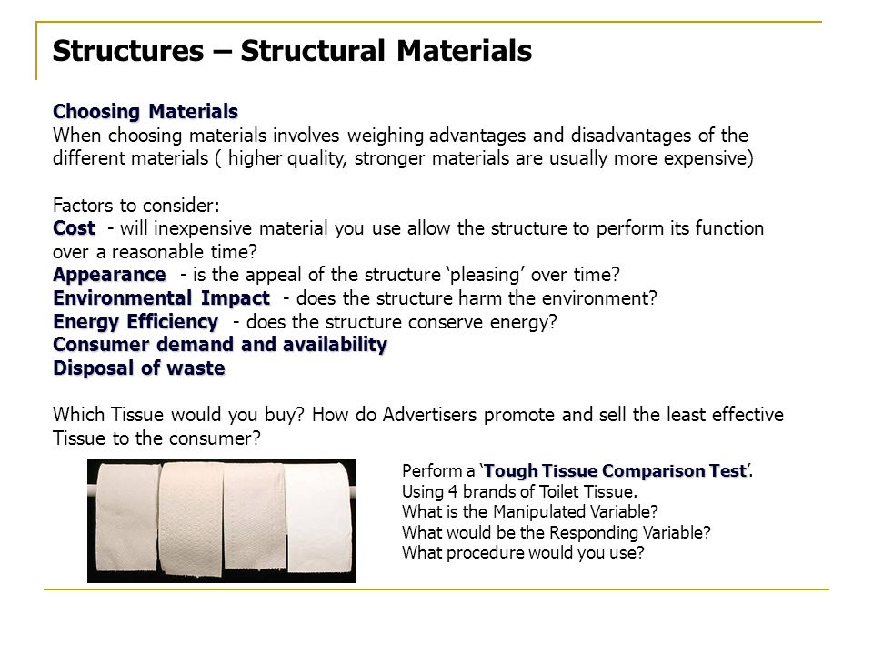 Structures – Structural Materials
