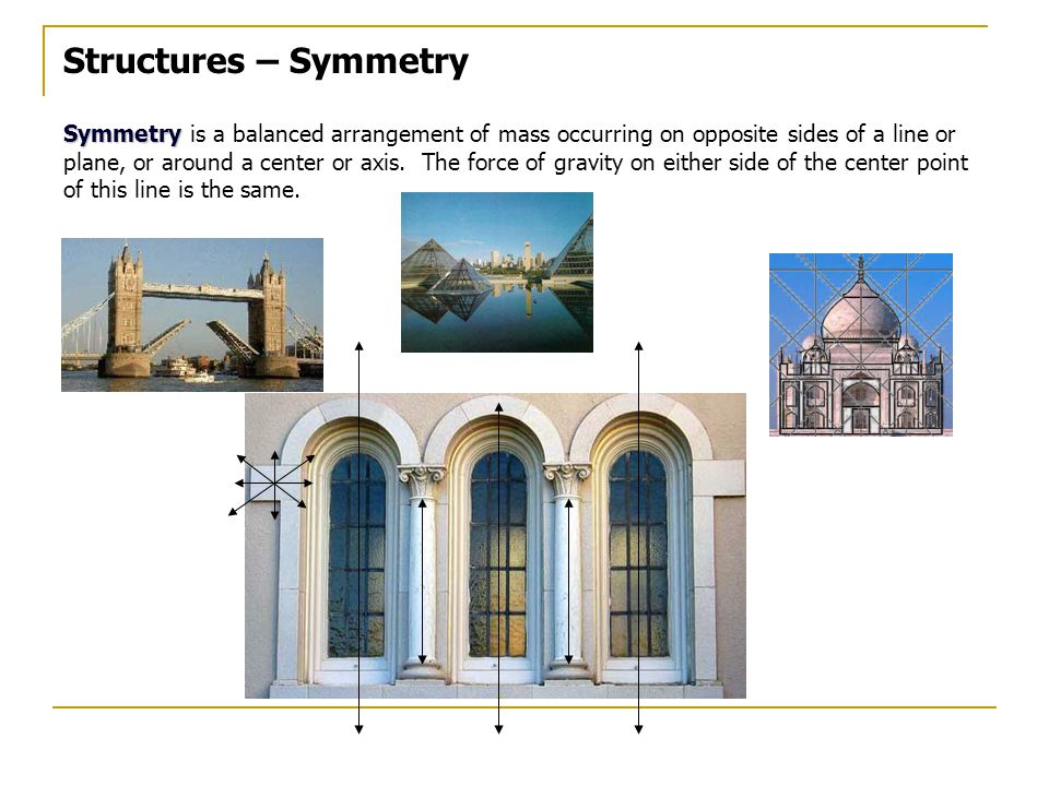 Structures – Symmetry
