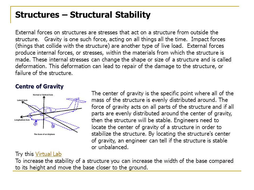 Structures – Structural Stability