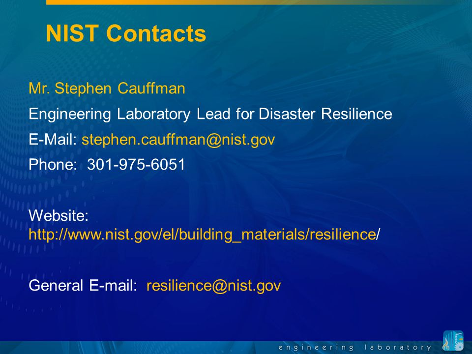 nist community resilience program ppt download