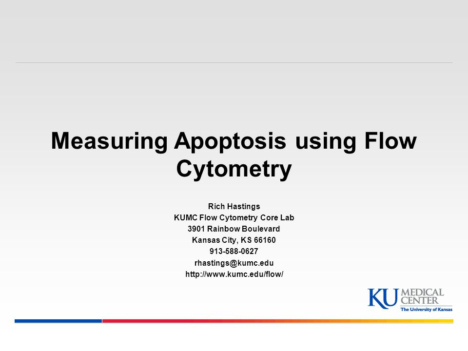 Measuring Apoptosis using Flow Cytometry