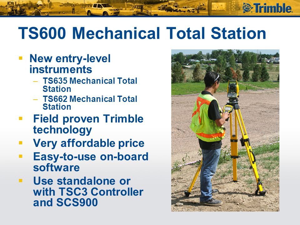 TS600 Mechanical Total Station