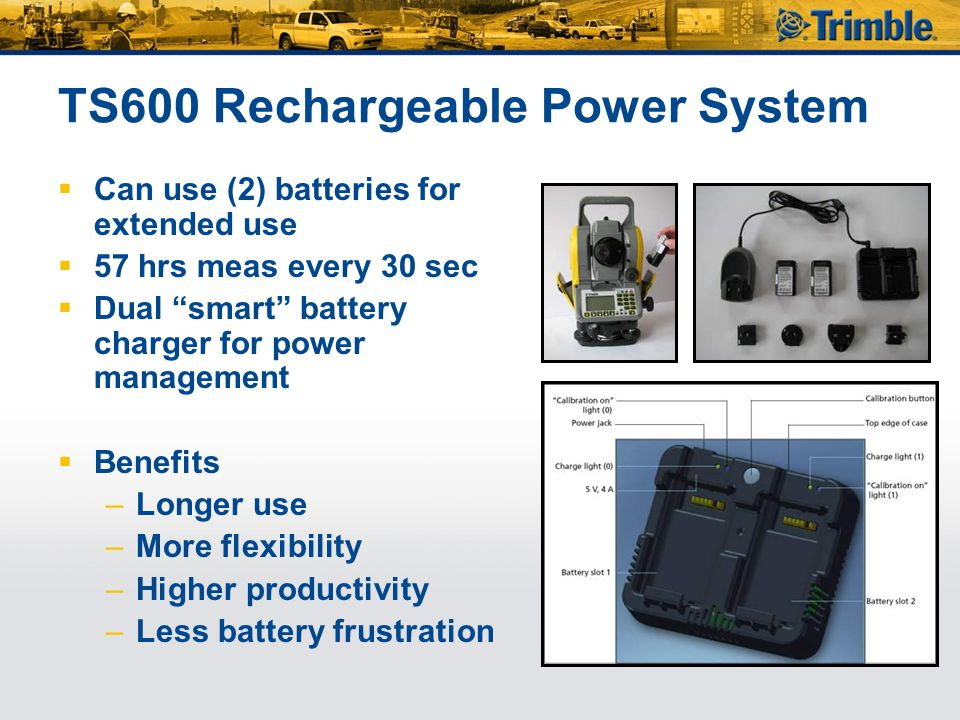 TS600 Rechargeable Power System