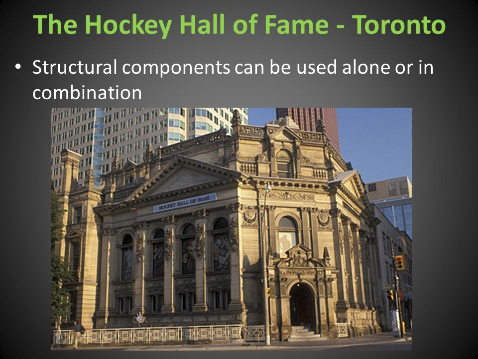 The Hockey Hall of Fame - Toronto