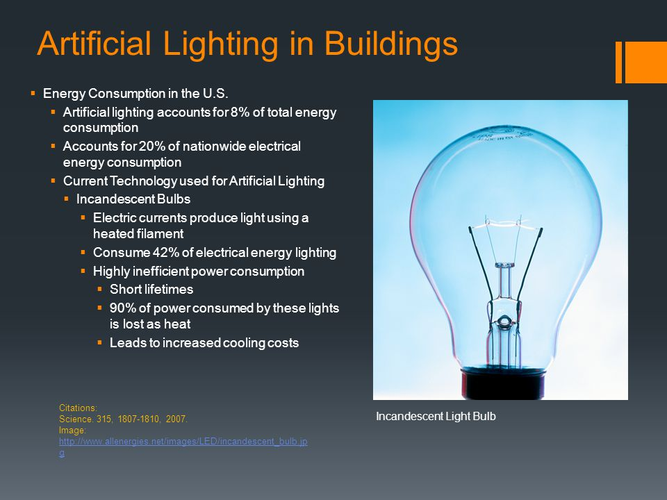 Artificial Lighting in Buildings