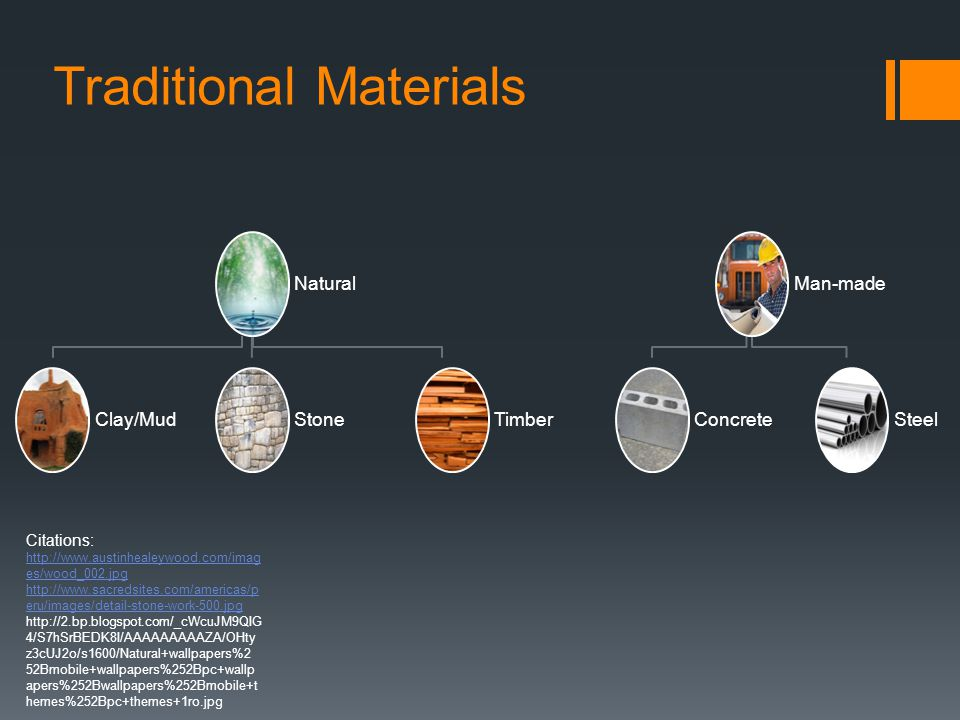 Traditional Materials