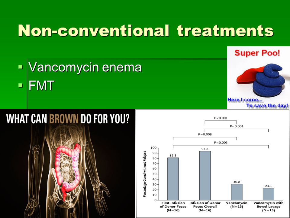 Non-conventional treatments