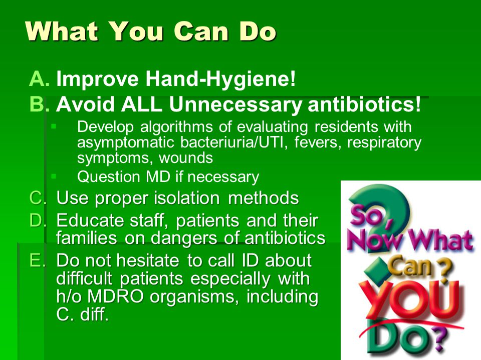 What You Can Do Improve Hand-Hygiene!