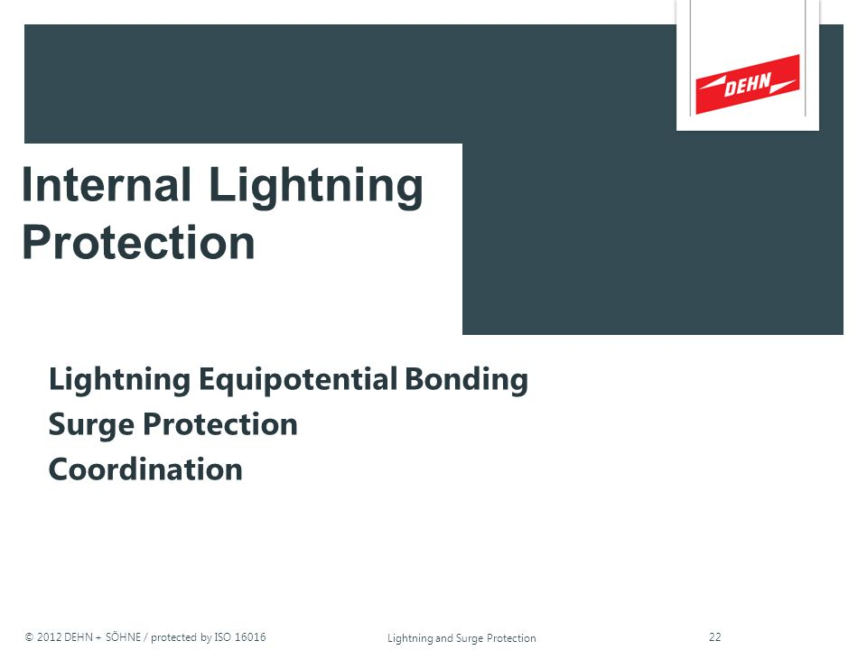 Internal Lightning Protection