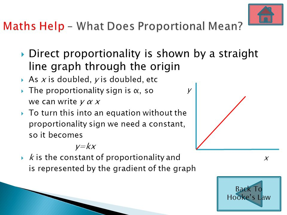 Maths Help – What Does Proportional Mean