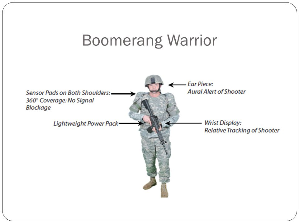 Boomerang Warrior