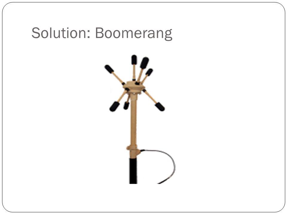Solution: Boomerang