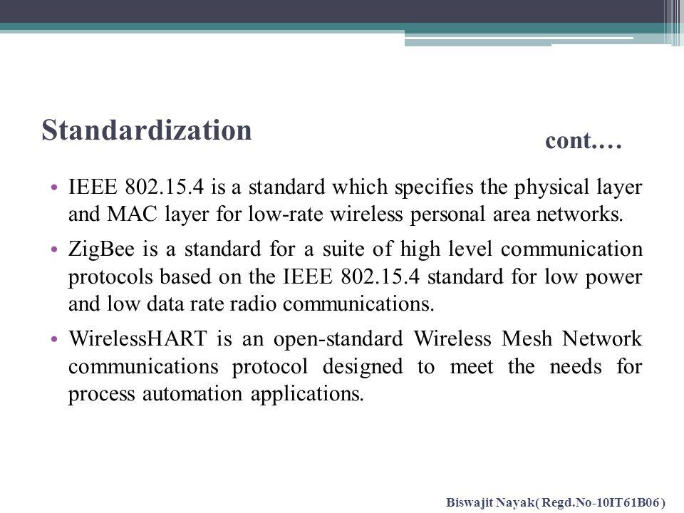 Standardization cont.…