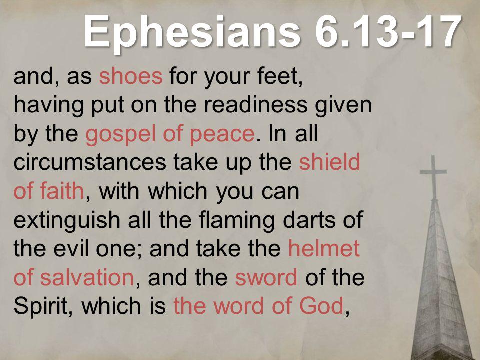 Ephesians 6.13-17