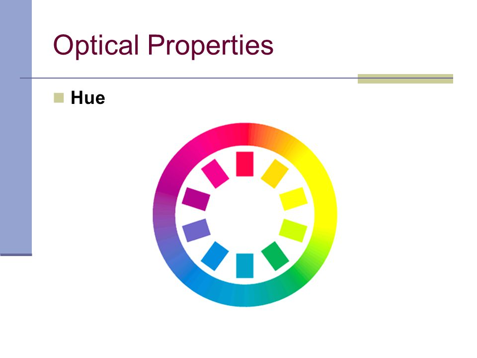 Optical Properties Hue