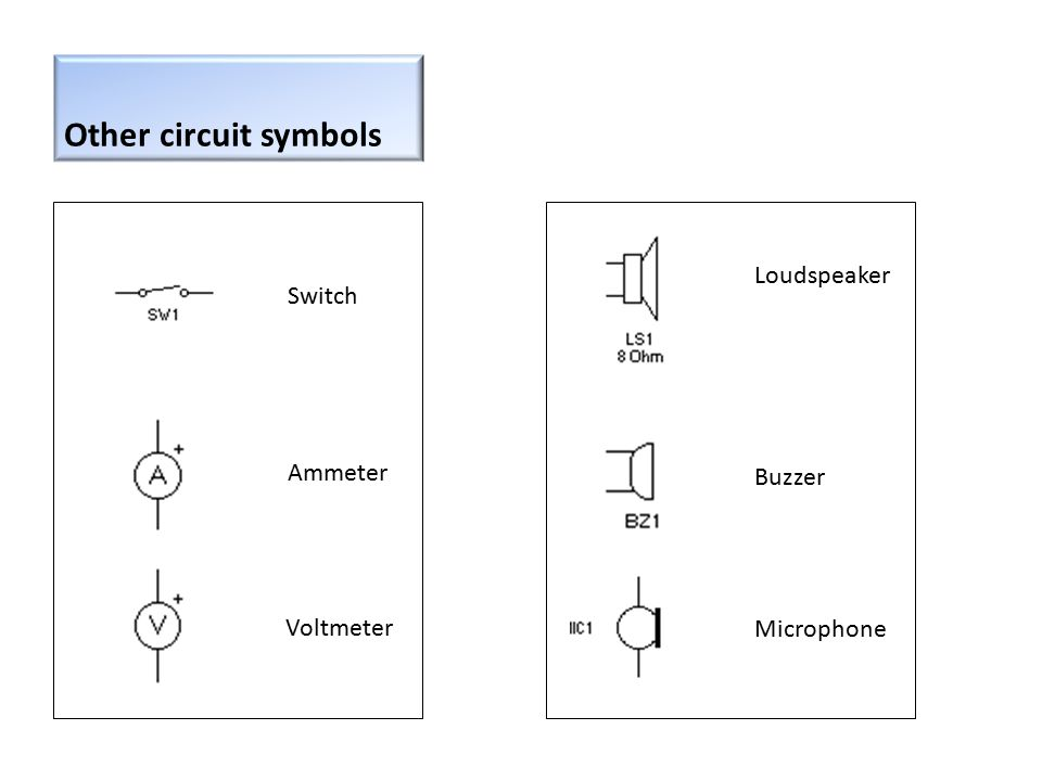 Circuit Symbol Circuit Schematic Symbols of Electronic - induced.info