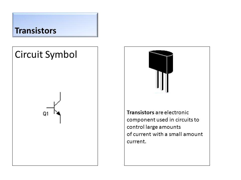 Circuit Symbol Transistors