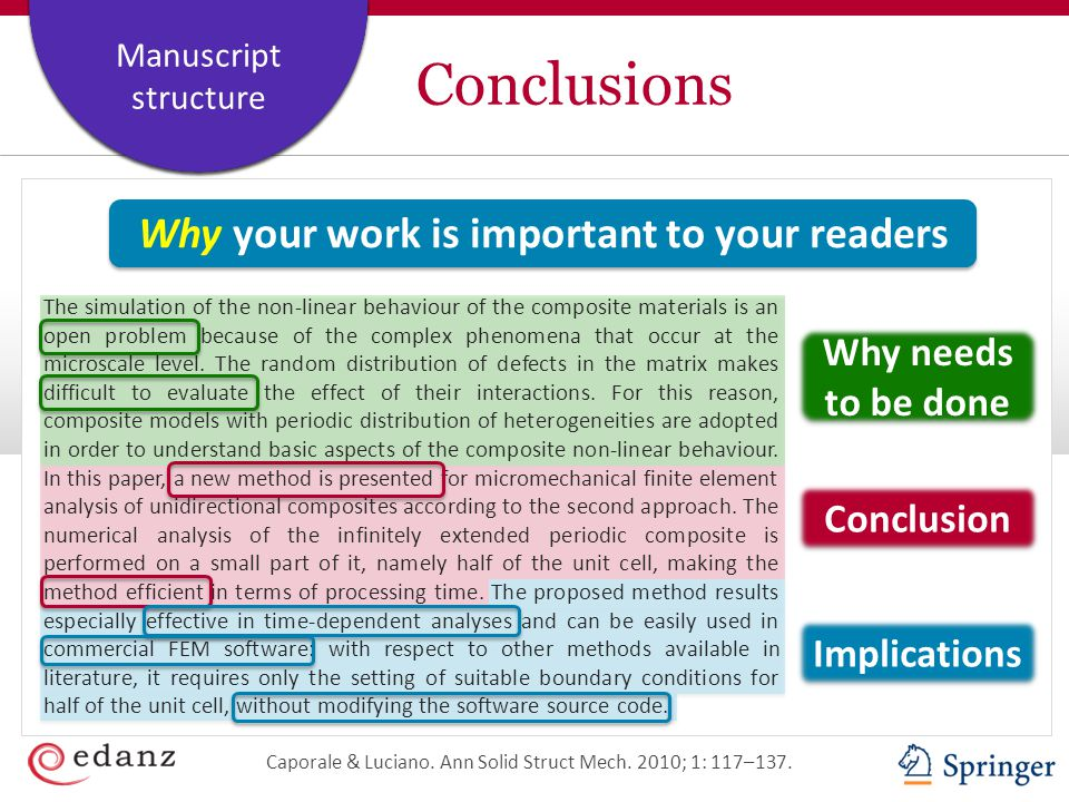Why your work is important to your readers