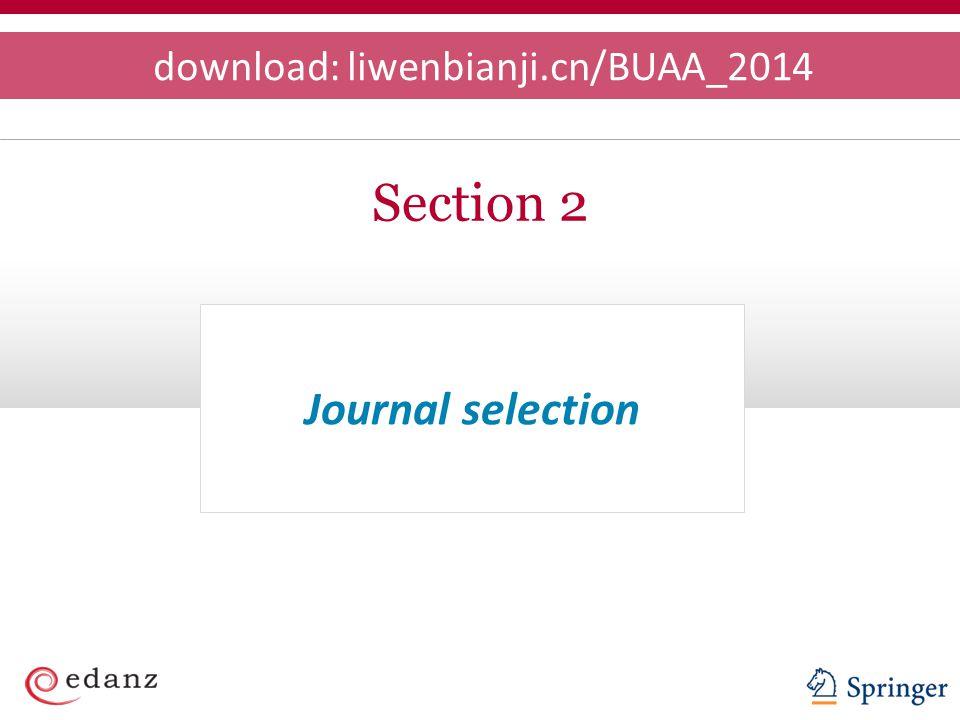 download: liwenbianji.cn/BUAA_2014