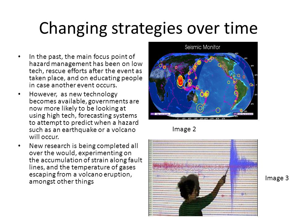 Changing strategies over time