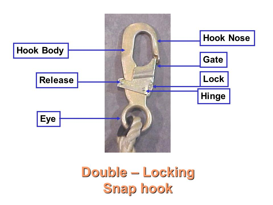 Double – Locking Snap hook