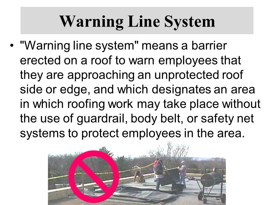 Warning Line System