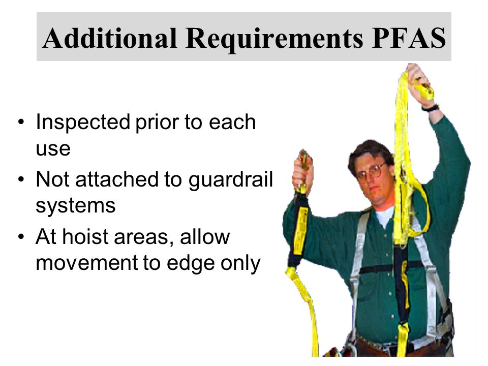 Additional Requirements PFAS