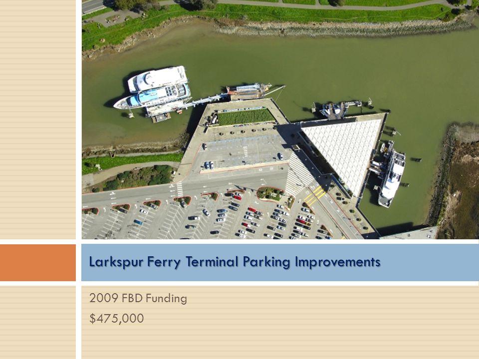 Larkspur Ferry Terminal Parking Improvements