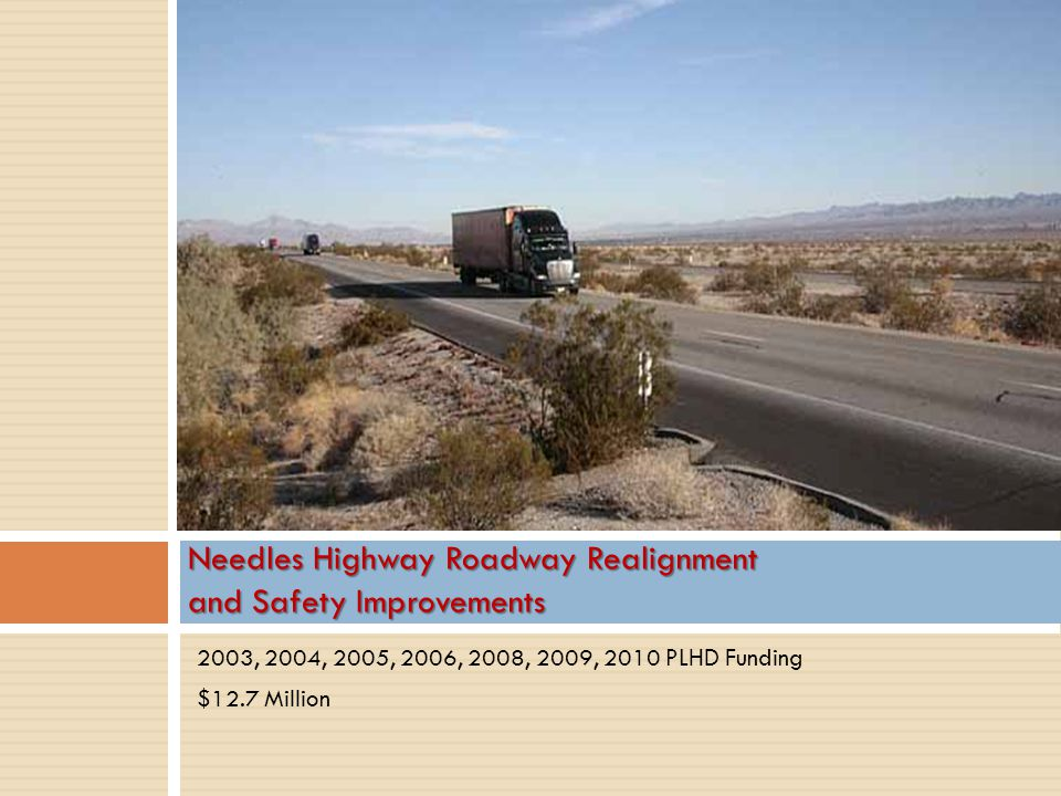 Needles Highway Roadway Realignment and Safety Improvements