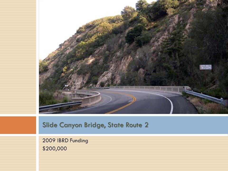Slide Canyon Bridge, State Route 2