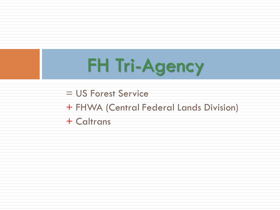 FH Tri-Agency = US Forest Service