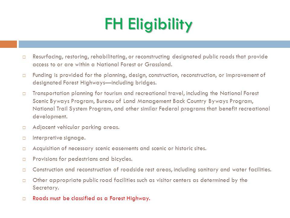 FH Eligibility