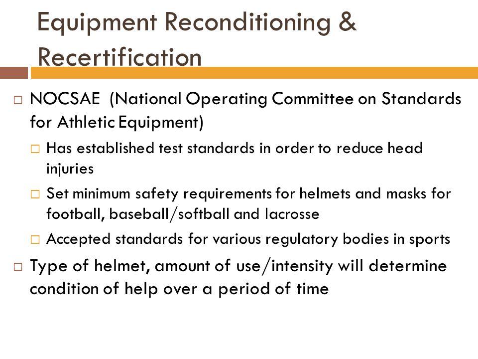 Equipment Reconditioning & Recertification