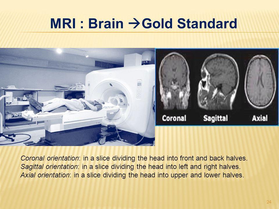 MRI : Brain Gold Standard