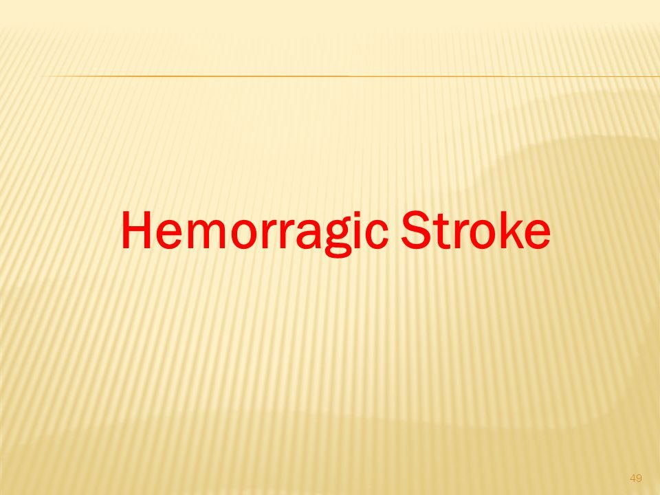 Hemorragic Stroke