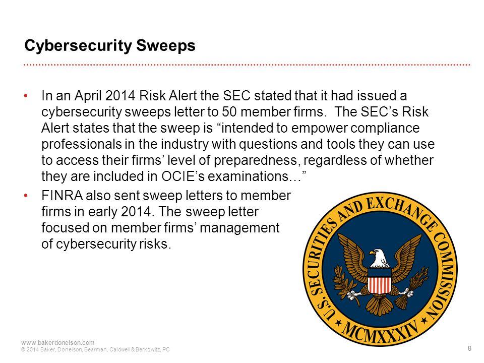 Cybersecurity Sweeps