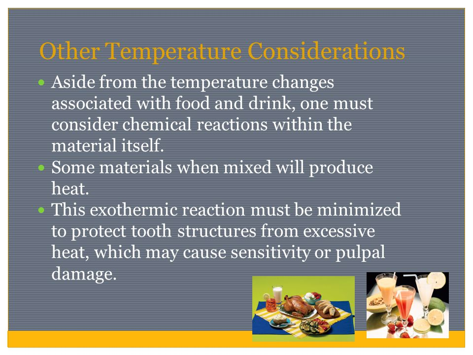 Other Temperature Considerations